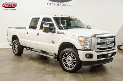 2016 Ford F-250 Super Duty for sale at Nexus Auto Brokers LLC in Marietta GA