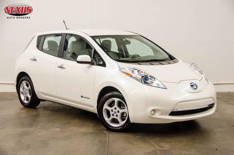 2014 Nissan Leaf Sv In Marietta Ga Nexus Auto Brokers Llc