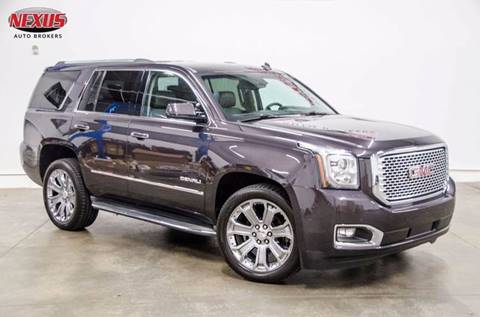 2015 GMC Yukon for sale at Nexus Auto Brokers LLC in Marietta GA