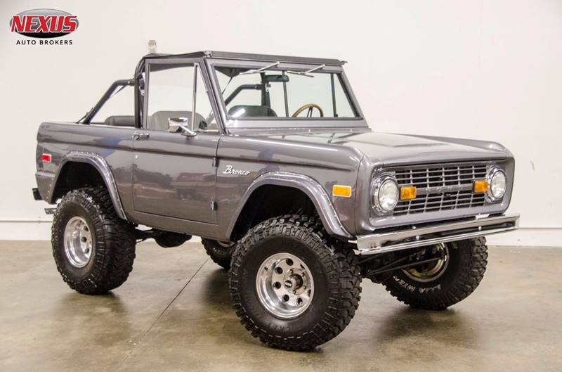 1972 ford bronco in marietta  ga nexus auto brokers llc Fuel Injector Wiring Harness Ford Engine Wiring Harness