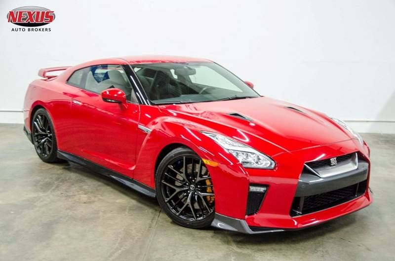 2017 Nissan GT-R Premium AWD 2dr Coupe: Nissan GT-R Premium AWD 2dr Coupe Red Coupe 3.8L V6 Twin Turbocharger Automatic