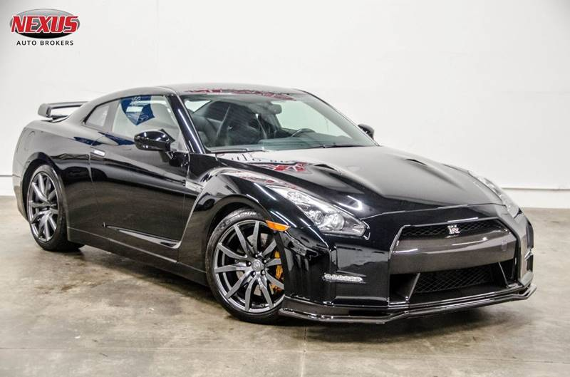 2009 Nissan GT-R Premium AWD 2dr Coupe: Nissan GT-R Premium AWD 2dr Coupe Black Coupe 3.8L V6 Twin Turbocharger Automati