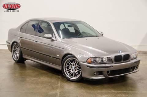 2002 BMW M5 for sale at Nexus Auto Brokers LLC in Marietta GA