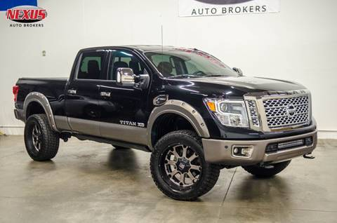 2017 Nissan Titan XD for sale at Nexus Auto Brokers LLC in Marietta GA