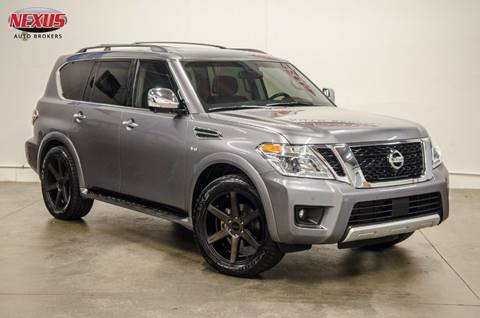 2017 Nissan Armada for sale at Nexus Auto Brokers LLC in Marietta GA