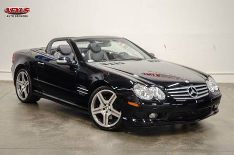 2003 Mercedes-Benz SL-Class for sale at Nexus Auto Brokers LLC in Marietta GA
