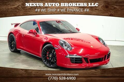 2015 Porsche 911 for sale at Nexus Auto Brokers LLC in Marietta GA