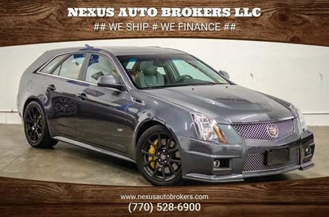 2012 Cadillac CTS-V for sale at Nexus Auto Brokers LLC in Marietta GA
