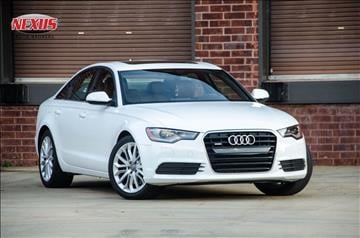 2014 Audi A6 for sale at Nexus Auto Brokers LLC in Marietta GA