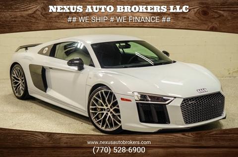 2017 Audi R8 for sale at Nexus Auto Brokers LLC in Marietta GA