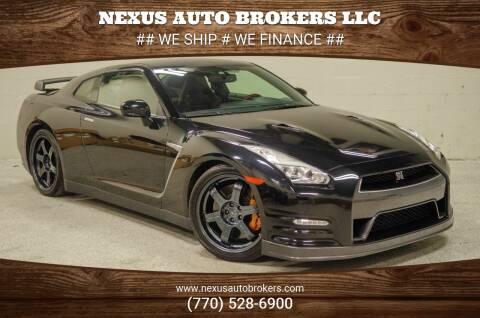2015 Nissan GT-R for sale at Nexus Auto Brokers LLC in Marietta GA