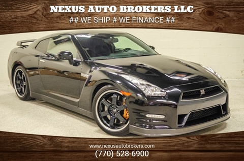 2013 Nissan GT-R for sale at Nexus Auto Brokers LLC in Marietta GA