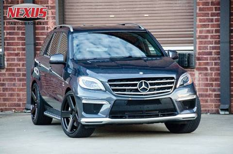 2013 Mercedes-Benz M-Class for sale at Nexus Auto Brokers LLC in Marietta GA