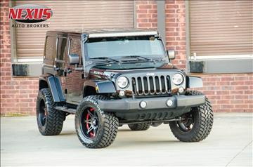 2015 Jeep Wrangler Unlimited for sale at Nexus Auto Brokers LLC in Marietta GA