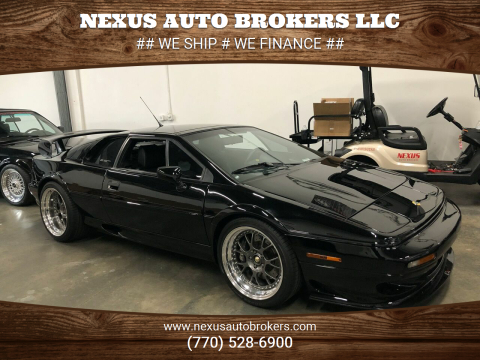 2002 Lotus Esprit for sale at Nexus Auto Brokers LLC in Marietta GA