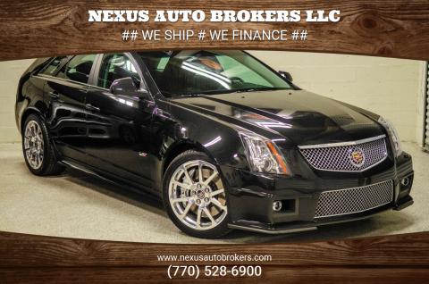 2014 Cadillac CTS-V for sale at Nexus Auto Brokers LLC in Marietta GA