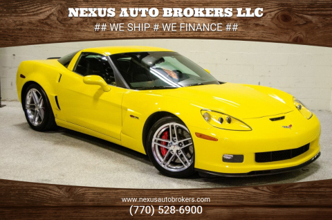 2007 Chevrolet Corvette for sale at Nexus Auto Brokers LLC in Marietta GA