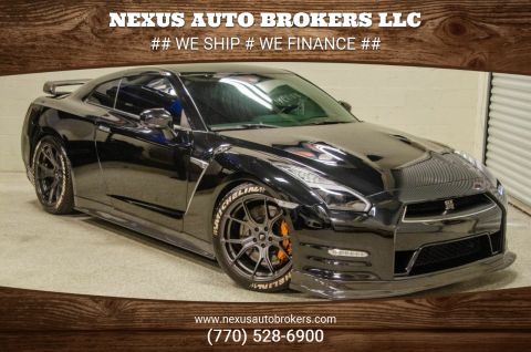 2015 Nissan GT-R for sale at Nexus Auto Brokers LLC in Marietta GA