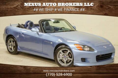 2002 Honda S2000 for sale at Nexus Auto Brokers LLC in Marietta GA
