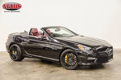 2012 Mercedes-Benz SLK for sale at Nexus Auto Brokers LLC in Marietta GA