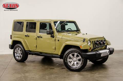 2013 Jeep Wrangler Unlimited for sale at Nexus Auto Brokers LLC in Marietta GA