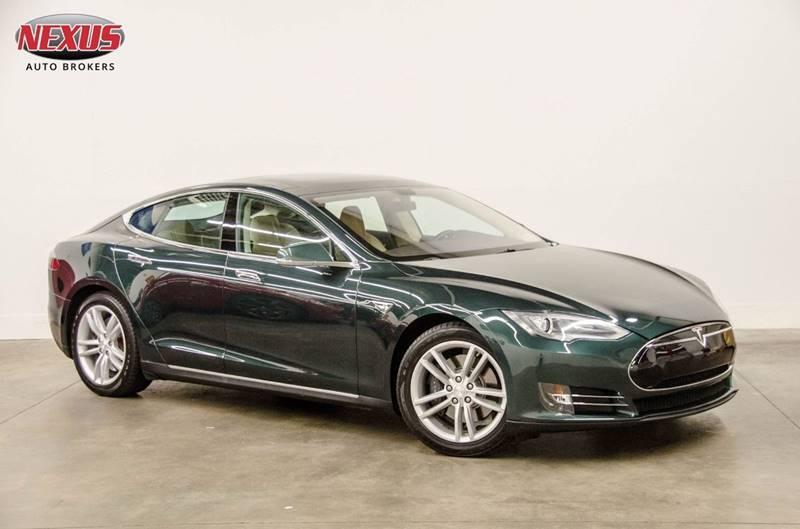2013 Tesla Model S for sale at Nexus Auto Brokers LLC in Marietta GA