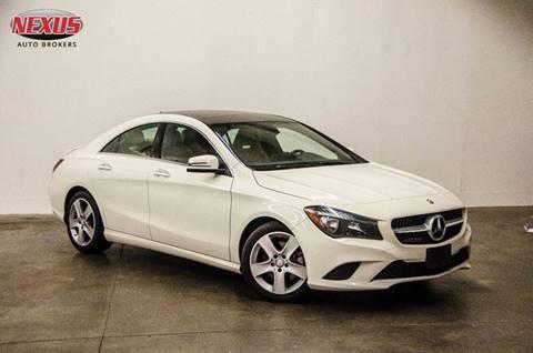 2015 Mercedes-Benz CLA for sale at Nexus Auto Brokers LLC in Marietta GA