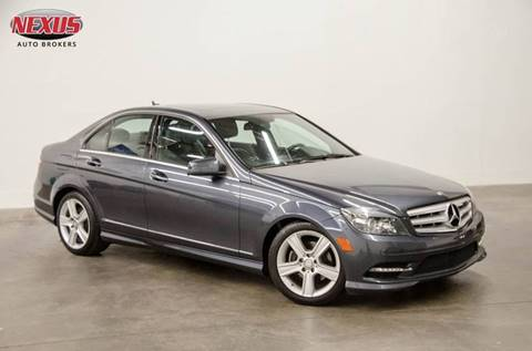 2011 Mercedes-Benz C-Class for sale at Nexus Auto Brokers LLC in Marietta GA