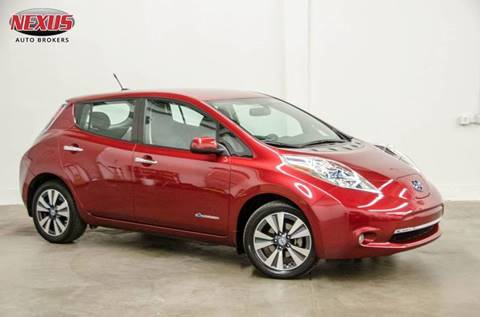 2013 Nissan LEAF for sale at Nexus Auto Brokers LLC in Marietta GA