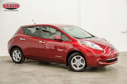2014 Nissan LEAF for sale at Nexus Auto Brokers LLC in Marietta GA