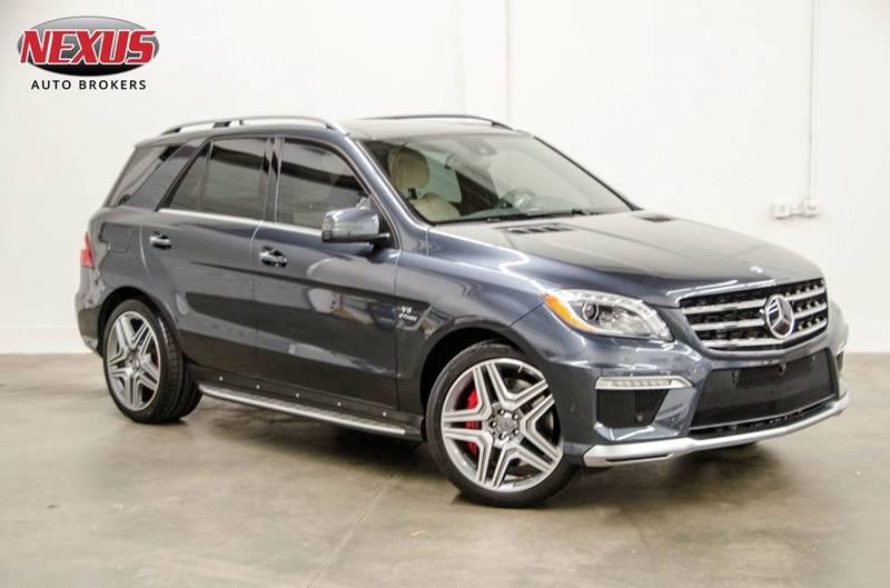2014 Mercedes-Benz M-Class for sale at Nexus Auto Brokers LLC in Marietta GA
