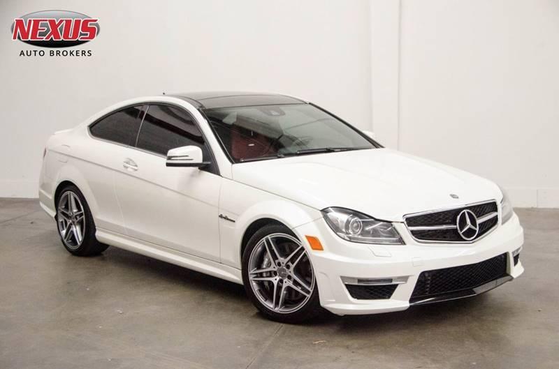 2013 Mercedes-Benz C-Class for sale at Nexus Auto Brokers LLC in Marietta GA