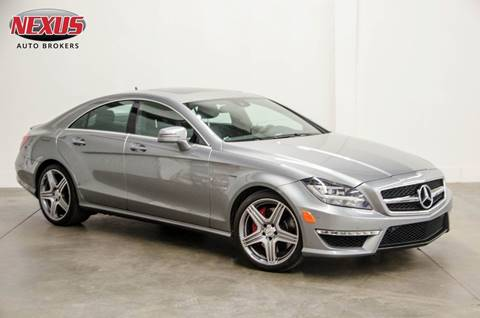 2013 Mercedes-Benz CLS for sale at Nexus Auto Brokers LLC in Marietta GA