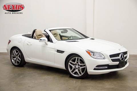 2014 Mercedes-Benz SLK for sale at Nexus Auto Brokers LLC in Marietta GA