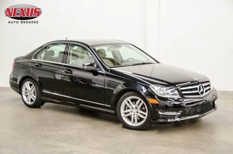2014 Mercedes-Benz C-Class for sale at Nexus Auto Brokers LLC in Marietta GA