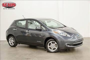 2013 Nissan LEAF for sale at Nexus Auto Brokers LLC in Marietta GA