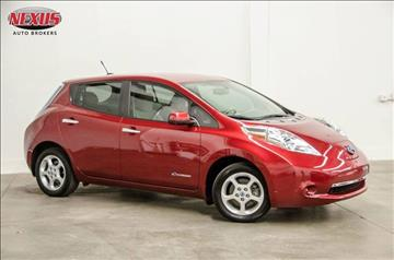 2014 Nissan LEAF for sale at Nexus Auto Brokers LLC in Marietta GA
