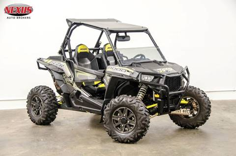 2016 Polaris RZR XP 1000 EPS for sale at Nexus Auto Brokers LLC in Marietta GA