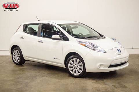 2015 Nissan LEAF for sale at Nexus Auto Brokers LLC in Marietta GA