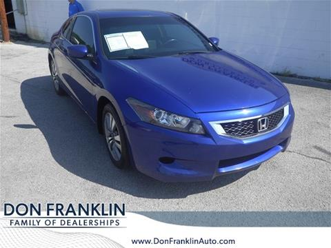 2010 Honda Accord for sale in Columbia, KY