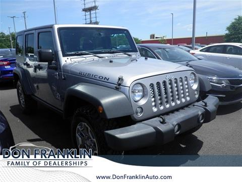 2016 Jeep Wrangler Unlimited for sale in Columbia, KY