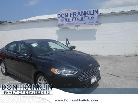 2014 Ford Fusion for sale in Columbia, KY