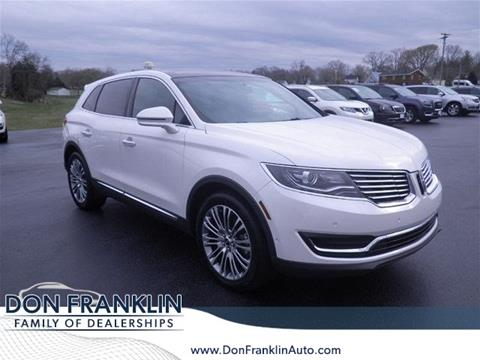 2016 Lincoln MKX for sale in Columbia, KY