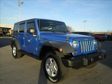 2010 Jeep Wrangler Unlimited for sale in Columbia, KY