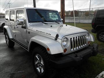 2012 Jeep Wrangler Unlimited for sale in Columbia, KY