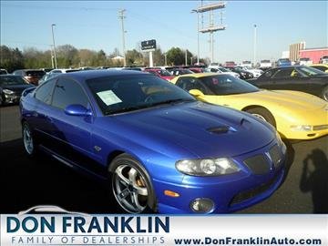 2006 Pontiac GTO for sale in Columbia, KY