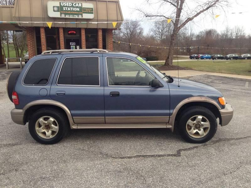2002 Kia Sportage 2WD 4dr SUV In Manchester MD  Used Car Station