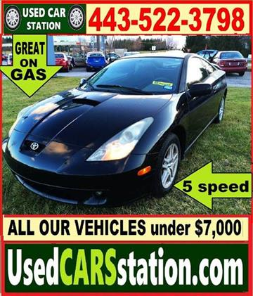 2001 Toyota Celica for sale in Manchester, MD