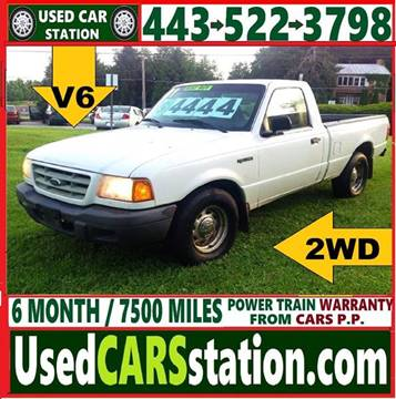 2001 Ford Ranger for sale in Manchester, MD