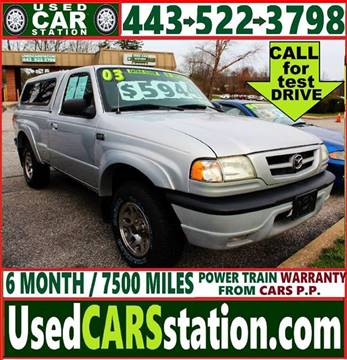 2003 Mazda Truck for sale in Manchester, MD